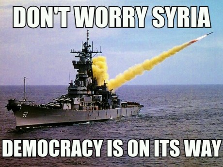 Dont worry democracy is onits way